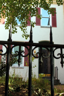 photo of iron gate